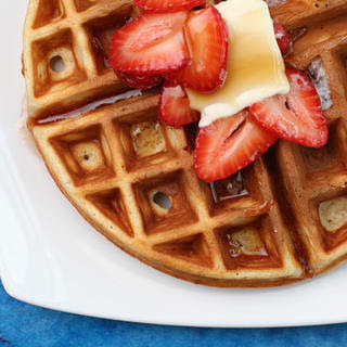 Buttermilk and Brown Butter Waffles