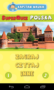 SuperQuiz POLSKA Kapitan Nauka - screenshot