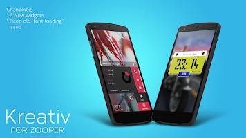Screenshot of Kreativ - For Zooper