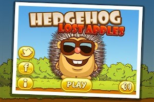 Screenshot of Hedgehog – Lost apples