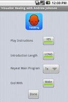 Screenshot of Visualize Healing
