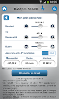 Screenshot of Banque Nuger