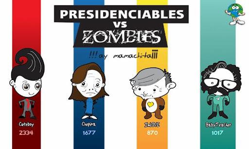 Presidenciables vs Zombies