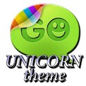 Unicorn theme Go SMS Pro icon