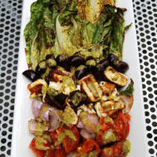 Grilled Greek Salad Recipe
