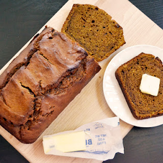 Pumpkin Molasses Bread