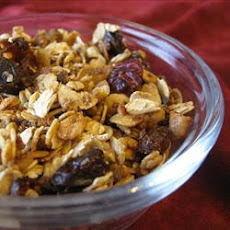 Golden Cinnamon Granola