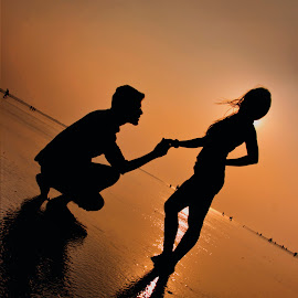 Will you...? by Vipin Waghmare - People Couples ( lovers, a proposal, will you?, marry me, couple,  )