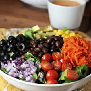 Chopped Salad & Chipotle Dressing