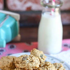Oatmeal Raisin Drop Cookies