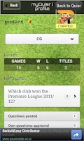 Screenshot of Quisr Football Champions|Quiz