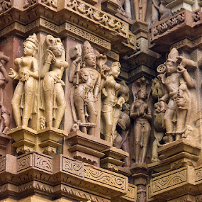 Khajuraho by Amit Aggarwal - Buildings & Architecture Statues & Monuments ( mp, khajuraho, india,  )
