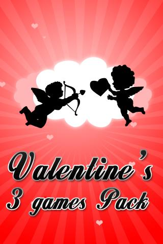Valentine's 3 Games Pack