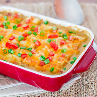 Mexican Tater Topped Casserole