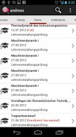 Screenshot of TU Graz Search