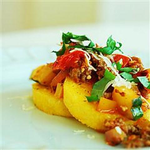 Italian Summer Squash Polenta Bake Recept | Yummly