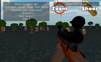 Screenshot of sniper herobrine