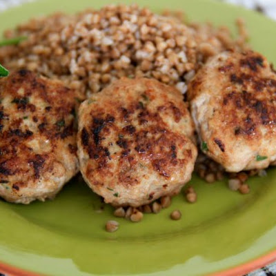 Russian Katleti Recipe (Turkey and Pork Patties) - Котлеты