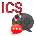 GO SMS THEME - Smooth ICS Red icon