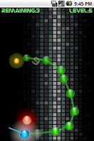 Screenshot of Chain Ball Deluxe