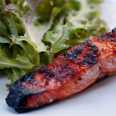 Grilled Salmon Paprika