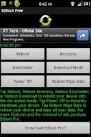 Screenshot of EzBoot (Reboot) Free