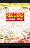 Screenshot of Receitas Maravilhosas