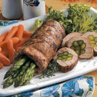 Asparagus Stuffed Pork Recipes