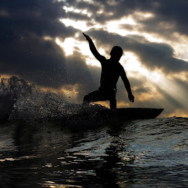 Floater to Heaven by Dave Nilsen - Sports & Fitness Surfing