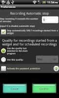 Screenshot of Audio Recorder Machine