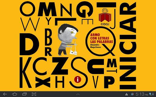 【免費程式庫與試用程式App】Armo con letras las palabras-APP點子