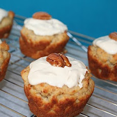 Maple Pecan Muffins with Maple Glaze