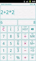 Screenshot of Mobi Calculator PRO