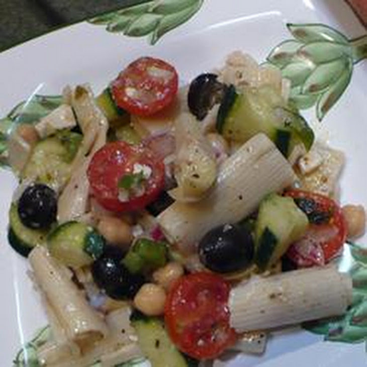 Greek Goddess Pasta Salad