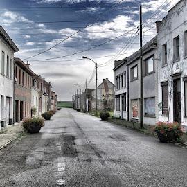 Abandoned town in Belgium by Toine Wessling - City,  Street & Park  Street Scenes