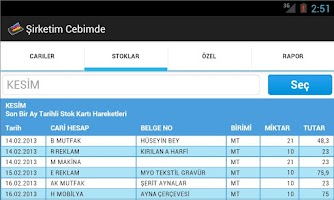 Screenshot of Şirketim Cebimde