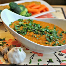 Spicy Red Lentil Stoup & Spread