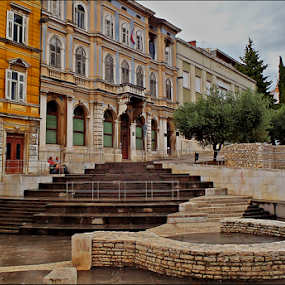 portarata, Pula-Croatia by Josip Kopčić - City,  Street & Park  Historic Districts ( urban, park, lifestyle, people, city,  )
