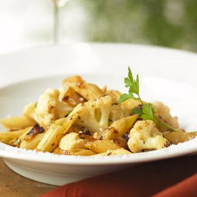 Penne with Cauliflower and Capers