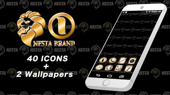 NESTA BRAND-COOL Icon & WP - screenshot