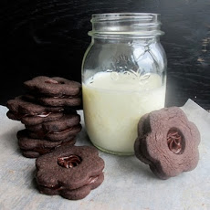 Chocolate Shortbread Sandwich Cookies