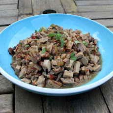 Modified Laap Muu (Lao Pork Salad)