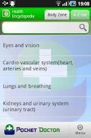 Screenshot of Pocket Doctor Lite