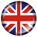 British Flag Badge Widget icon
