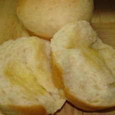 Sweet, Buttery Rolls  (Bread Machine Recipe)