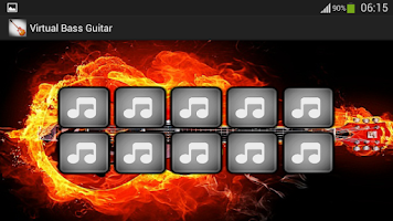 Screenshot of Virtual Bass Guitar
