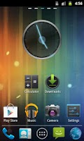 Screenshot of GO Launcher EX Theme ICS