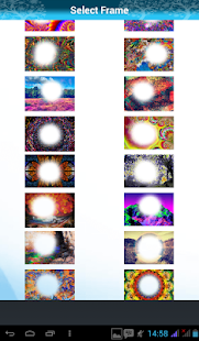 Psychedelic Photo Frames - screenshot