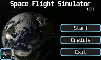 Screenshot of Space Flight Simulator Lite