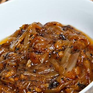 Onion Chutney Mustard Seeds Recipes